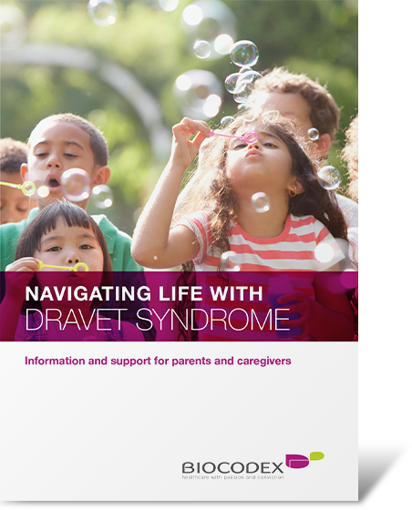 Download the Navigating Life with Dravet Syndrome information booklet for useful information after a Dravet syndrome diagnosis